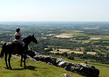Horse Riding on Dartmoor Trails